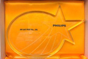 giải thưởng nhà phân phối đèn led Philips