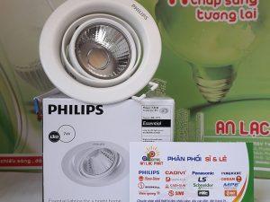 Đèn Downlight Philips 7w Pomeron 59776 Trắng