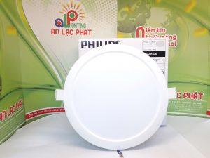 Bóng đèn âm trần Philips 59265 Eridani 200 14W mỏng gọn