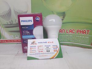 bóng đèn led tròn Philips Mycare 10w