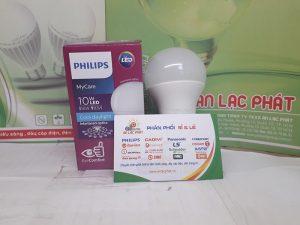 bóng đèn led tròn Philips Mycare 10w bảo vệ mắt