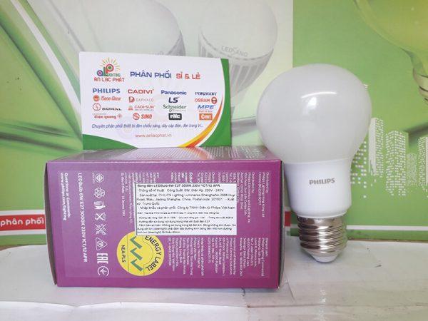 đèn led bulb Philips Mycare 6w bảo vệ thị giác của bạn
