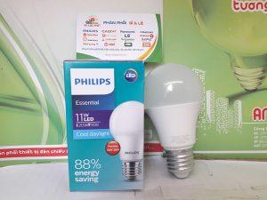 bóng led tròn Philips essential 11w