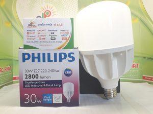 bóng đèn tròn Philips công suất cao 50w ánh sáng tinh tế