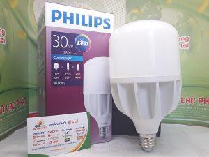 bóng đèn tròn Philips công suất cao 50w chất lượng tốt