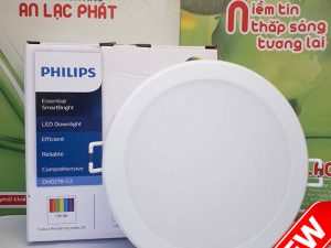 Bóng Đèn Âm Trần Philips DN027B Tròn 22w lỗ cắt 200