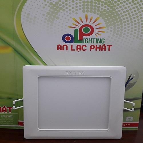 Đèn Led Âm Trần Philips Vuông 7w DN027B lỗ cắt 100mm