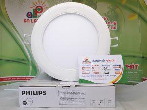 Đèn led âm trần Philips 12W 59522 MARCASITE Tròn
