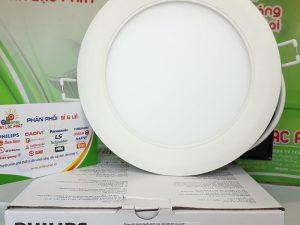 Đèn Led Âm Trần Philips Marcasite 59521 9w lỗ cắt 95mm siêu mỏng