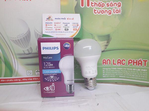 bóng đèn led bulb Philips Mycare 12w