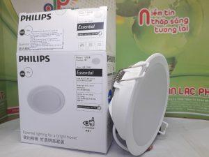 đèn led âm trần Menson 9W Philips phù hợp với nhiều không gian