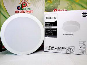 đèn led âm trần DN027C Philips dải công suất rộng