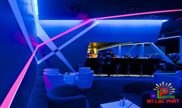 Đèn led sử dụng trong quán bar