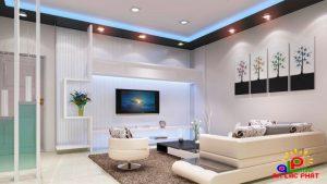 Đèn led Philips phòng khách