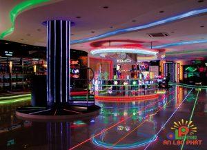 Đèn led sử dụng trong khu giải trí